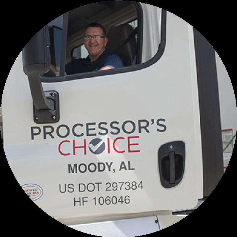 Processor's Choice truck